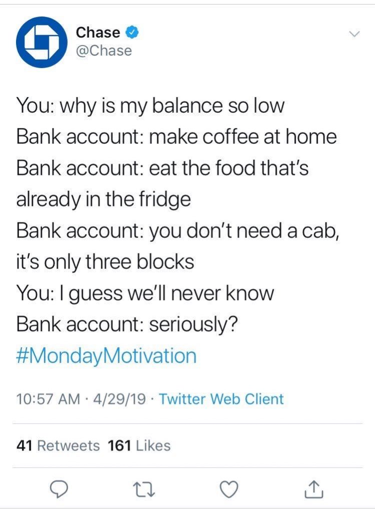 Chase's Twitter Blunder Shows Failure to Offer Value | Mabus Agency